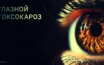 Глазной токсокароз, симптомы и лечение у взрослых
