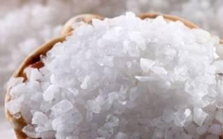 Лечение геморроя солью