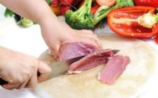 Можно ли мясо при гастрите?