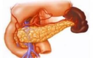Загиб (изгиб) поджелудочной железы