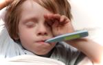 Понос и температура 38 у ребенка и взрослого