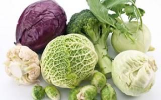 Какую капусту при гастрите можно есть?