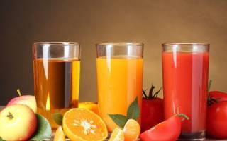 Какие соки можно пить при гастрите?