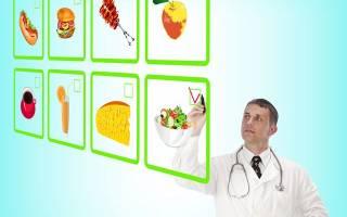Диетический лечебный стол (диета) при гастрите