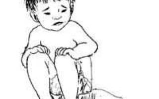 Водянистый понос у ребёнка
