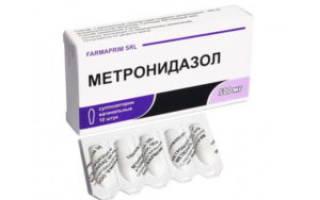 Метронидазол против глистов