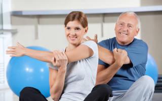 Гимнастика для профилактики запоров у людей пожилого возраста