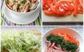 Какие салаты можно при гастрите?
