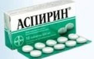 Аспирин при панкреатите